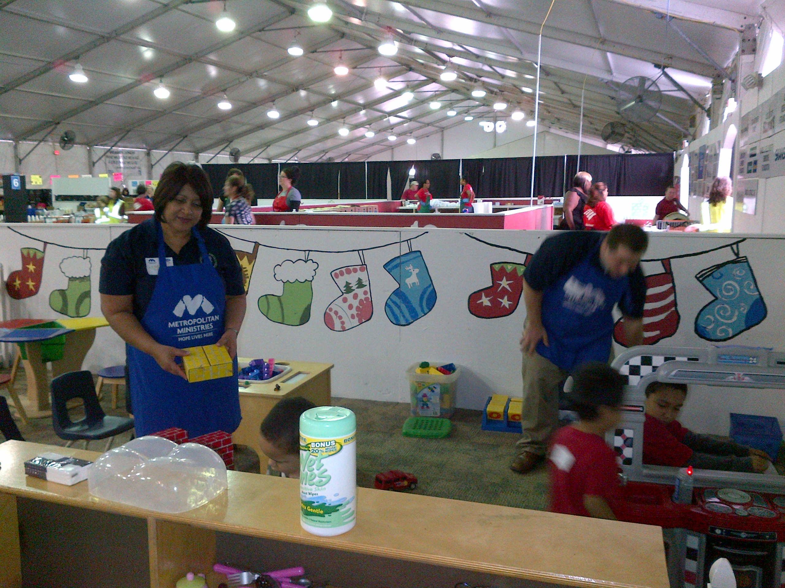 BBK - Metroploitan Ministries Holiday Tent